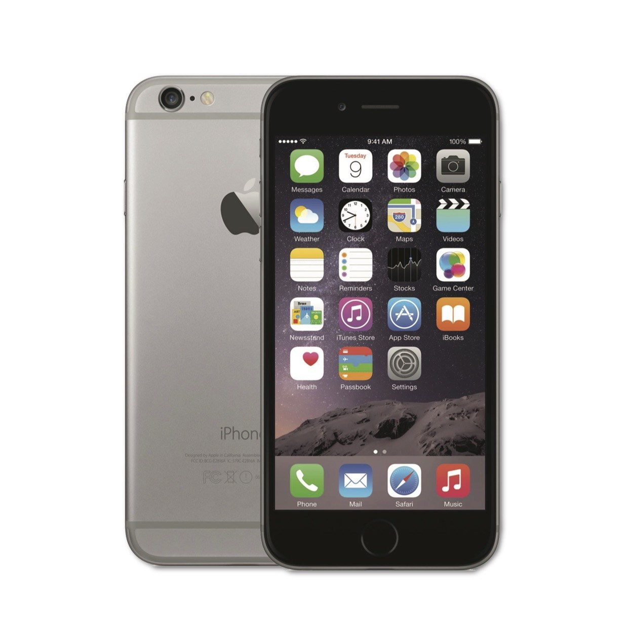 iPhone 6 Space Grey - trangthienlong.com.vn