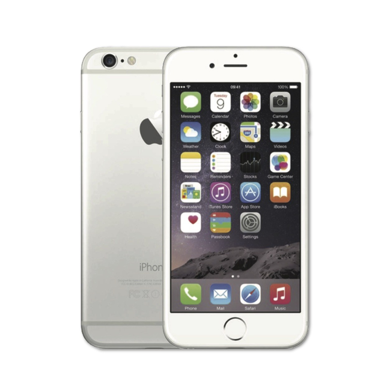iPhone 6 Silver - trangthienlong.com.vn